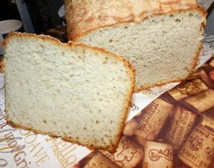 Chleb pszenny z oliwą